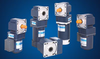 AC DC right angle gearmotors