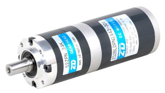 BLDC planetary gearmotor 15W, BLDC motor with planetary gearbox