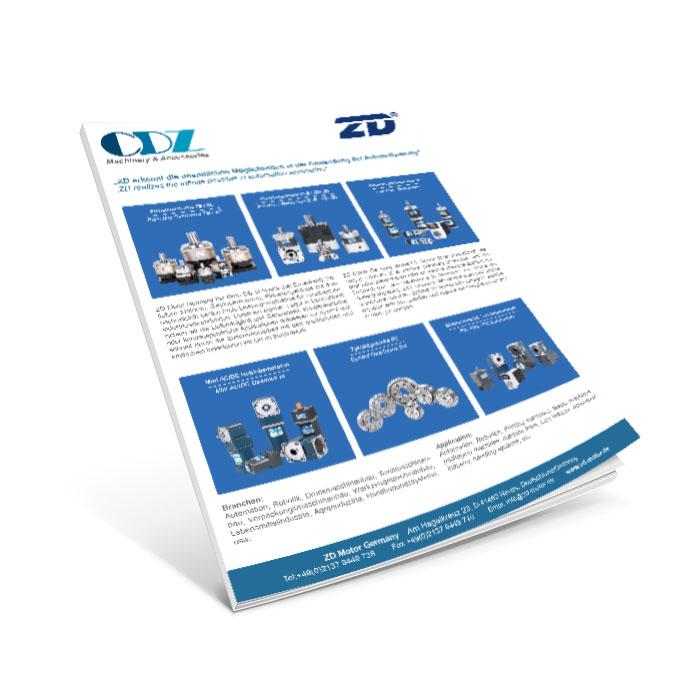 ZD Motor flyer