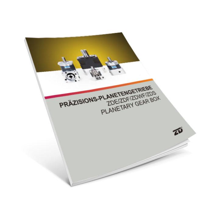 Catalogue planetary gearbox ZDE, ZDF, ZDWE, ZDWF & ZDS series