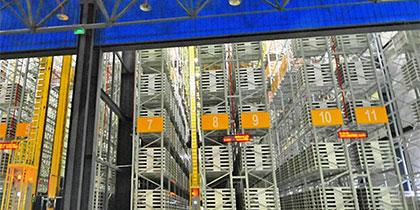 Smart storage rack