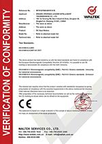 WALTEK CT Zertifikat